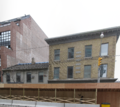 North side of reconstruction of SE corner of King and Sherbourne, 2012 12 26.png