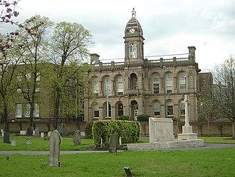 Nottingham Trent University - Nottingham School of Art on Waverley Street