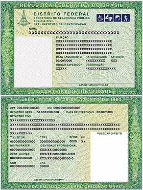Cédula De Identidade Wikipédia A Enciclopédia Livre