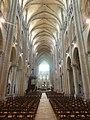 Noyon (60), cathédrale Notre-Dame, nef, vue vers l'est 4.jpg