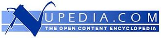 Jimmy Wales - Nupedia's logo