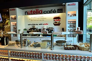 Nutella - Nutella Cafe