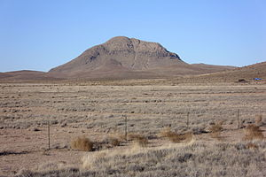Nutt, New Mexico - South face of Nutt Mountain