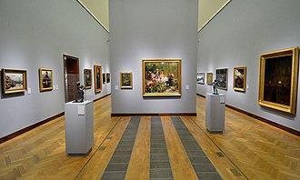 Aleksander Gierymski - Paintings of Aleksander Gierymski displayed in the Warsaw National Museum