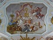 Ochsenhausen klosterkirche 029 fresco veneration of monstrance