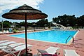 Of Camping Domaine de Gajan Boisseron with water attractions, waiting for campsite visitors - panoramio.jpg