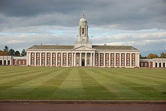 Sleaford - Officer Training School at RAF Cranwell, near Sleaford.