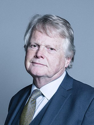 Michael Dobbs - Image: Official portrait of Lord Dobbs crop 2