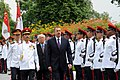 Official welcoming ceremony was organized for Ilham Aliyev in Singapore, 2012 07.jpg