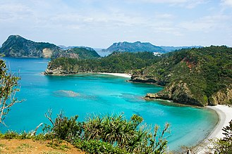 Ogasawara National Park, a UNESCO World Natural Heritage site Ogasawara Islands, Tokyo, Japan.jpg