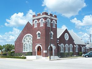 National Register of Historic Places listings in Okeechobee County, Florida - Image: Okeechobee FL Episc Church 06