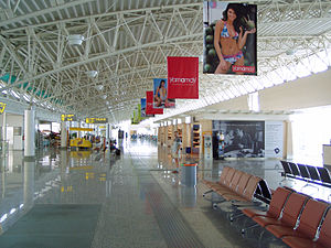 Olbia Costa Smeralda Airport - Departure gate area
