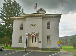 Allegany County, New York - Image: Old Allegany County Courthouse 2012 09 29 22 00 46
