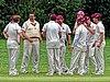 Old Finchleians Cricket Club v Highgate Taverners Cricket Club at Finchley, London, England 12.jpg