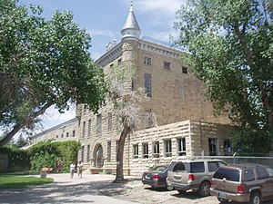 "Wyoming State Penitentiary - The 1901 ""Wyoming Frontier Prison"" at 500 W. Walnut Street"