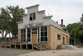 Shell, Wyoming - Old Shell Lodge in 2007