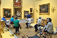 Old Town Culture Crawl No 2, Nationalmuseum, 18th century French paintings room.jpg