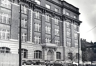 School for Creative and Performing Arts - The Old Woodward building in 1976. The Renaissance Revival building is part of the Over-the-Rhine National Register Historic District.