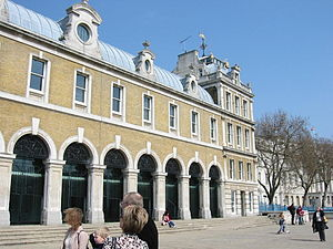 Old Billingsgate Market - Image: Old billingsgate market london