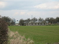 Old huts at Tholthorpe Airfield.jpg