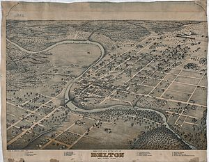History of Mexican Americans in Texas - Map of Belton