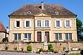 Old schoolbuilding at Calviac-en-Perigord, Dordogne, with nice architecture of the past. It is still in use^ - panoramio.jpg