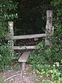 Old stile into Bixley Woods - geograph.org.uk - 889802.jpg