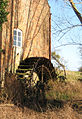 Old waterwheel at Upleadon Mill - geograph.org.uk - 679468.jpg