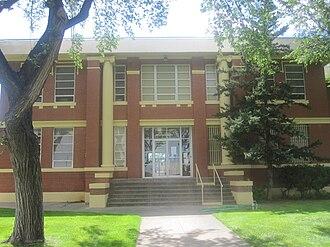 Oldham County, Texas - Image: Oldham County, TX, Courthouse IMG 4904