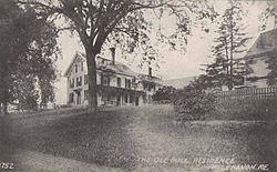 Ironwell, the Ole Bull residence c. 1915