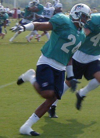 Omare Lowe - Lowe with the Dolphins in 2002