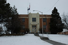 oneida county idaho malad courthouse wikipedia city establishments 1950 gelistet nrhp nr im