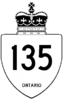 Highway 135 shield