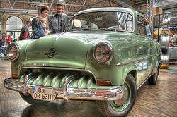1950s Opel Olympia Record