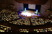 Opening ceremony Wikimania 2019 Stockholm 5.jpg