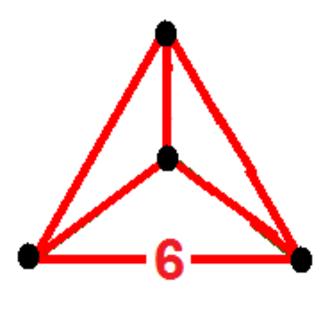 Hexagonal tiling honeycomb - Image: Order 3 hexagonal tiling honeycomb verf