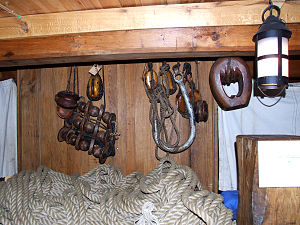Götheborg (ship) - Items recovered from original ship.