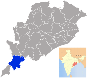 Koraput district - Image: Orissa Koraput