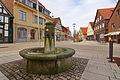Ortsblick auf den Marktplatz in Sachsenhagen IMG 5353.jpg