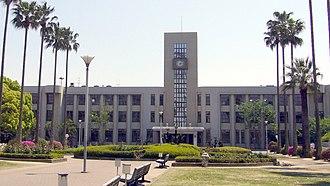 Osaka City University - The No.1 Building (main building) of Osaka City University, built in 1934