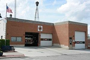 Oswego, Illinois - Oswego old fire department
