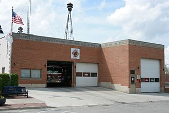 Oswego, Illinois - Oswego old fire department
