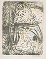 Otto Mueller - Sitzende und Badende mit Baum - 1914-18.jpeg