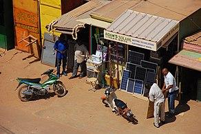 Ouagadougou shop