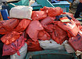 Over 50 bags of hashish are piled on the deck of Decatur (DDG 73) on 16 December 2003.jpg
