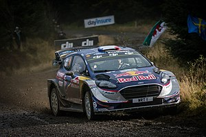2018 World Rally Championship - M-Sport World Rally Team are the defending Manufacturers' Champions.
