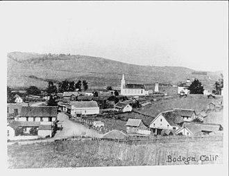 Bodega, California - Bodega in the early 1900s