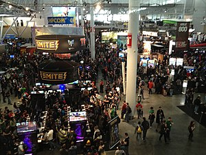 History of PAX - Expo hall at PAX East 2012