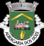 Brasão da freguesia de Albergaria dos Doze Reis Bebados