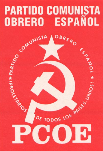 Spanish Communist Workers' Party (1973) - Image: PCOE Logo
